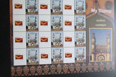 Indien – India * Mystamp Sheetlet  Charminar   Michel #2992 54 €