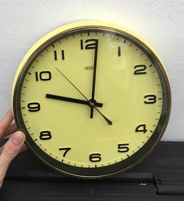 Vintage Mid 20th Century Cool Retro Wall Clock