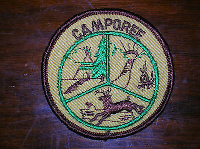 BSA Vintage Boy Scouts Of America ~ Camporee ~ Badge ~ Patch ~ NOS
