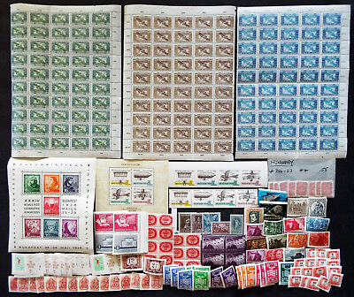 Large Lot Of Mint Stamps From Hungary