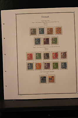 Denmark Collection 1905-1979 Most Used with 82 110 M1-2, BOB Scott Value $2000+