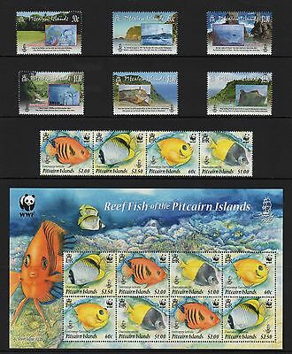 Pitcairn Islands 2010 Complete Year Set NH