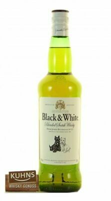Black&White Blended Scotch Whisky 0,7l, alc. 40 Vol.-%