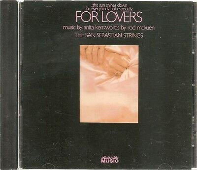 For Lovers The San Sebastian Strings Rod McKuen CD Collector's Choice