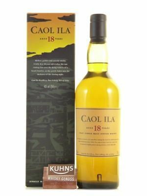 Caol Ila 18 Jahre Islay Single Malt Scotch Whisky 0,7l, alc. 43%