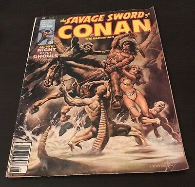 The Savage Sword Of Conan The Barbarian 32 Marvel Magazine 1978