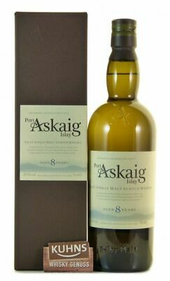 Port Askaig 8 Jahre Islay Single Malt Scotch Whisky 0,7l, alc. 45,8%