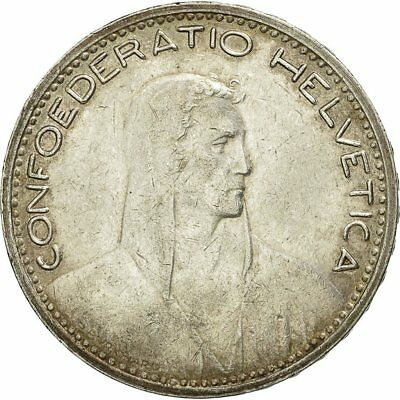 [#453931] Coin, Switzerland, 5 Francs, 1923, Bern, EF(40-45), Silver, KM:37