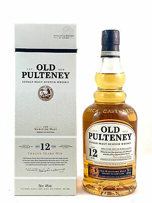 Old Pulteney 12 Jahre Highland Single Malt Scotch Whisky 0,7l, alc. 40 Vol.-%
