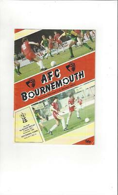 Bournemouth v Kettering Town FA Cup 1984/85 Football Programme