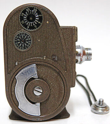 1930s Vintage Bell & Howell Sportster Double Run Eight 8mm Movie Camera