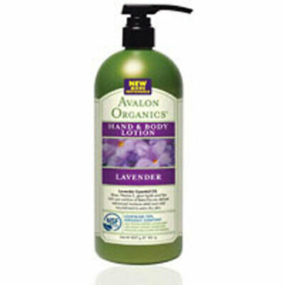 Hand and Body Lotion Lavender,32 Oz by Avalon Organics