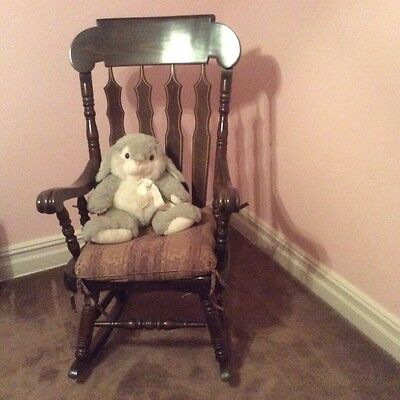 Vintage  Rocking Chair with Cushion