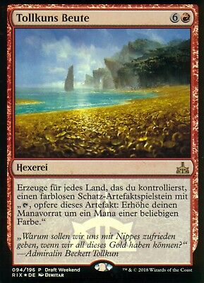 Tollkuns Beute FOIL / Brass's Bounty | NM | Release Promo | GER | Magic MTG