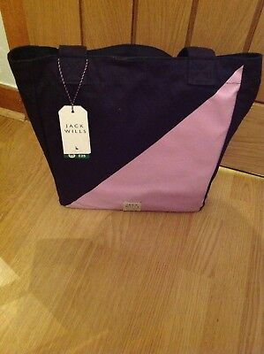 Jack Wills Ladies Overnight Tote Bag Gift Set with Toiletries Body Wash Lotion