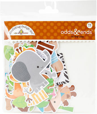 Doodlebug Odds & Ends Die-Cuts-At The Zoo