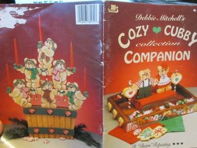 Cozy Cubby Collection Companion Painting Book -Debbie Mitchell, Teddy Bears