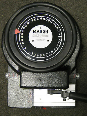 "Marsh Model S 3/4""  Industrial Stencil Press"