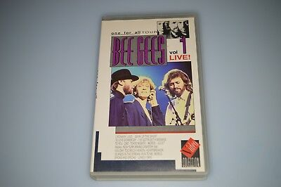 VHS Bee Gees - Live vol. 1