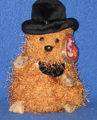 37bce427203 TY PUNXSUTAWNEY PHIL 2005 GROUNDHOG BEANIE BABY - MINT with MINT TAGS