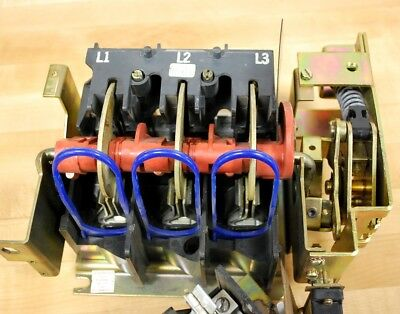Square D Class 9422 Type TE-2 Disconnect Switch 100AMP, 600VAC-250VDC - USED