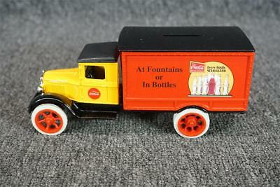ERTL Die-Cast Coca-Cola 1931 Delivery Truck Coin Bank In Box