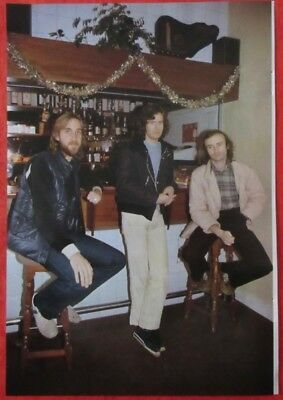 GENESIS PHIL COLLINS Tony Banks Mike Rutherford 1980 CLIPPING JAPAN G2 F9