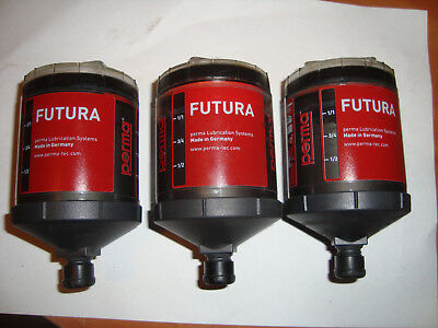 PERMA SF05FUTURA Lube Cylinders lot of 3 free post