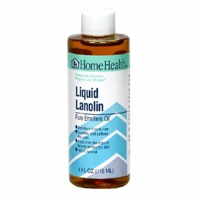 Liquid Lanolin 4 Fl Oz by Home Health