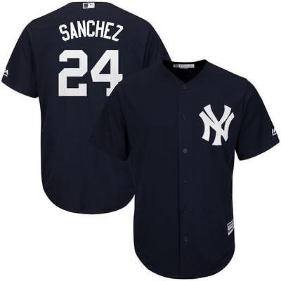 New York Yankees Gary Sanchez Navy Men's jersey