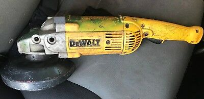 Dewalt D28474 Angle Grinder w/Blastrac Vacuum Assembly & Concrete Grinding Head