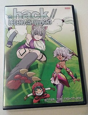 Dot Hack Legend of the Twilight DVD Enter the nightmare! vol. 2 Free Shipping