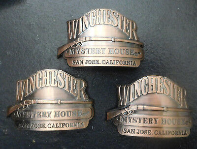 San Jose,Ca. - Winchester Mystery House - Three Medallions