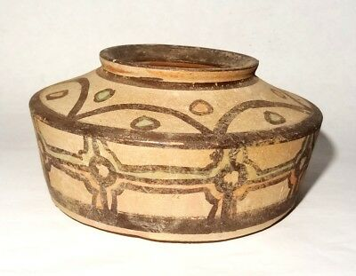 Ancient Indus Valley Pottery Bowl 2500/1500 Bc - Harappan - Mehrgarh  Bronze Age