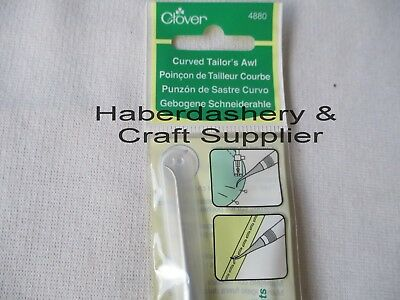 Clover Curved Tip Tailors Awl*pull Out Corner Tip 4880