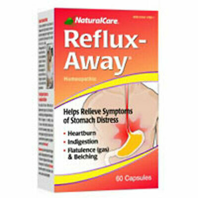 Reflux-Away 60 Caps by Natural Care