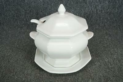 Calif USA Soup Tureen With Serving Plate And Ladle