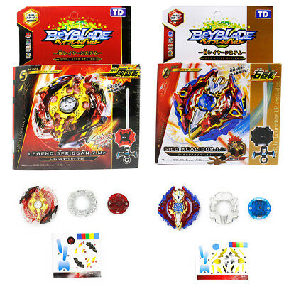 2PCS BeyBlade Burst B-92 Sieg Xcalibur & B-86 Legend Spriggan Set Kids Gift Toy