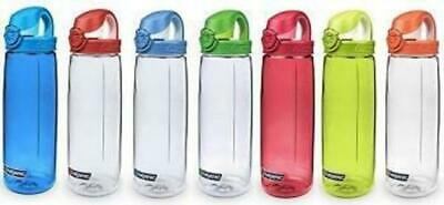 Nalgene On the Fly (OTF) Leak Proof Water Bottle BPA Free Easy Clean Easy Open