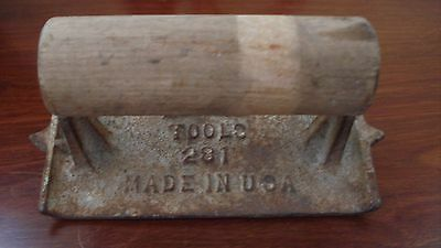 vintage concrete groover tool