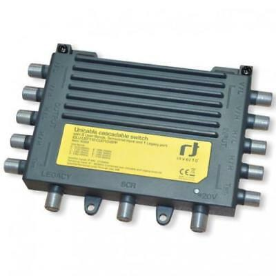 Inverto Unicable Casecadable Switch For Up To 8 Set Top Boxes