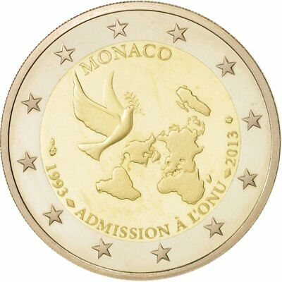 [#49462] Monaco, 2 Euro, 2013, Bi-Metallic, Proof
