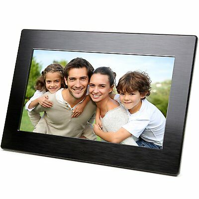 Micca 10-Inch Digital Photo Frame With High Resolution Widescreen LCD and Auto