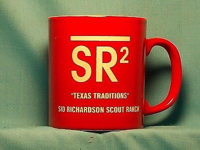 "BOY SCOUTS SR2 ""Texas Traditions"" Sid Richardson Scout Ranch COFFEE CUP / MUG"