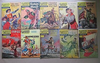 Classics Illustrated Issues 1 - 127  17 total issues