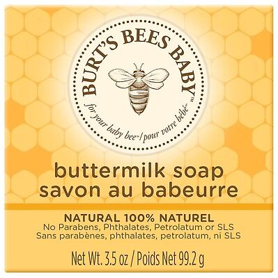 Burt's Bees Baby Bee Buttermilk Soap, 99g NEW