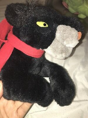 "Large Disney Bagheera plush ""The Jungle Book"" RARE"