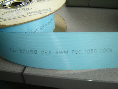 """Sold Per Foot, 2651, 50 Conductor Ribbon Cable 28(7x36) AWG, 0.050"""" 1.27mm Pitch"""
