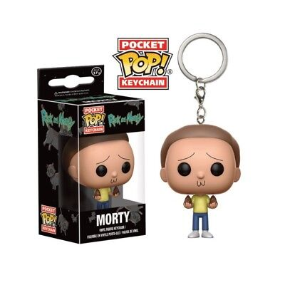 Porte Clés POP Rick And Morty Pocket - Morty