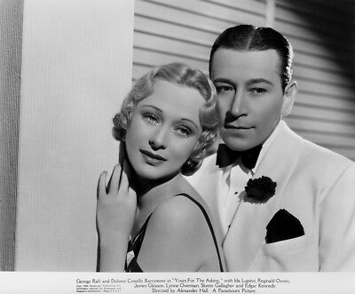 George Raft, Dolores Costello Barrymore - Yours for the Asking ... - 8 1/2 X 11